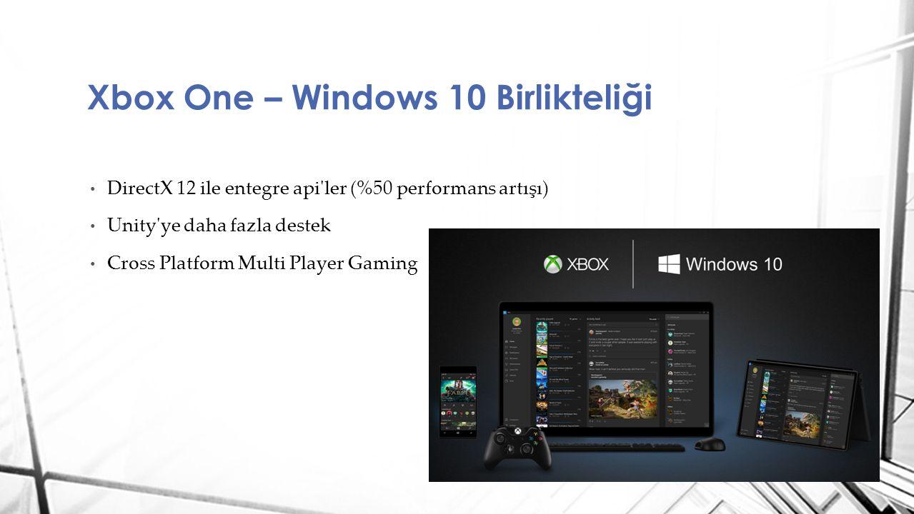 Xbox One – Windows 10 Birlikteliği