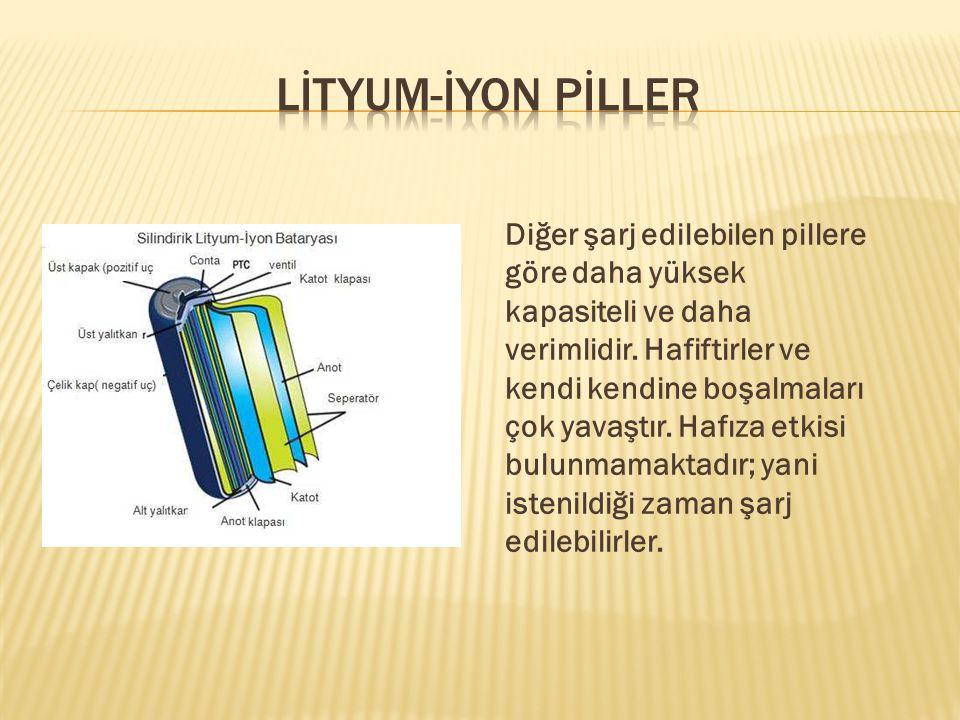 LİTYUM-İYON PİLLER