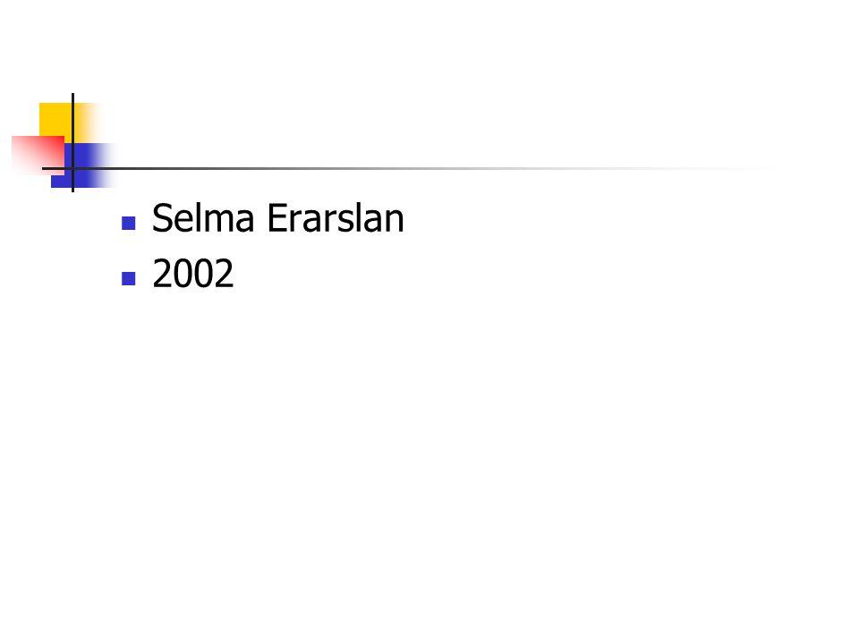 Selma Erarslan 2002