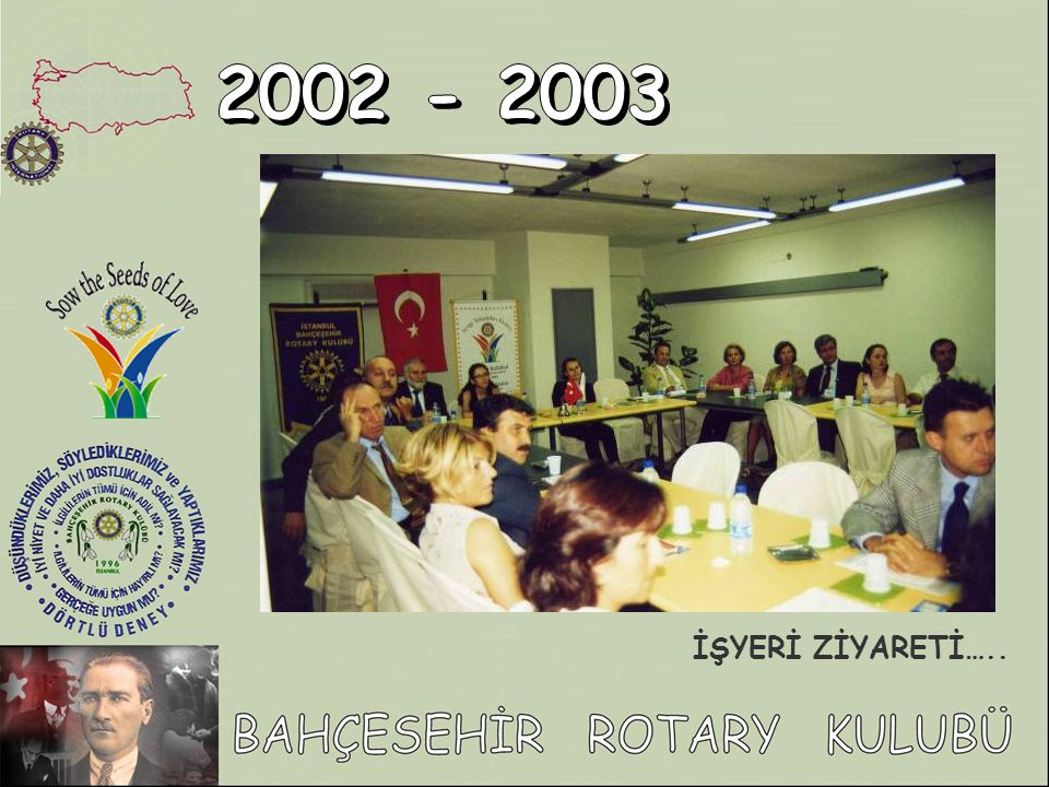 2002 - 2003 İŞYERİ ZİYARETİ…..