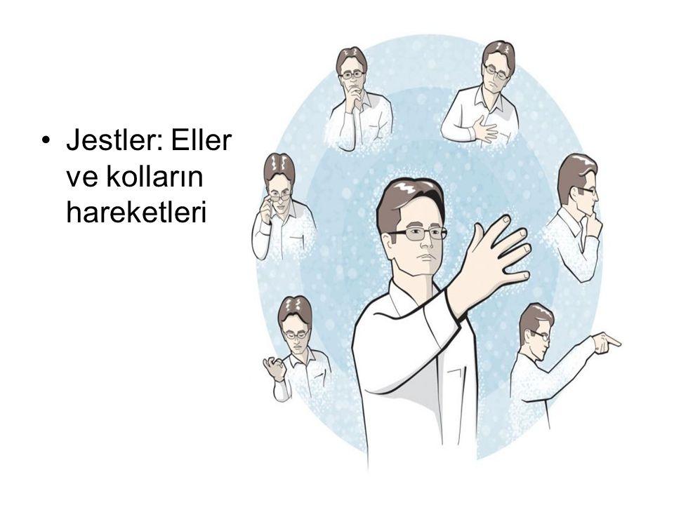 Jestler: Eller ve kolların hareketleri