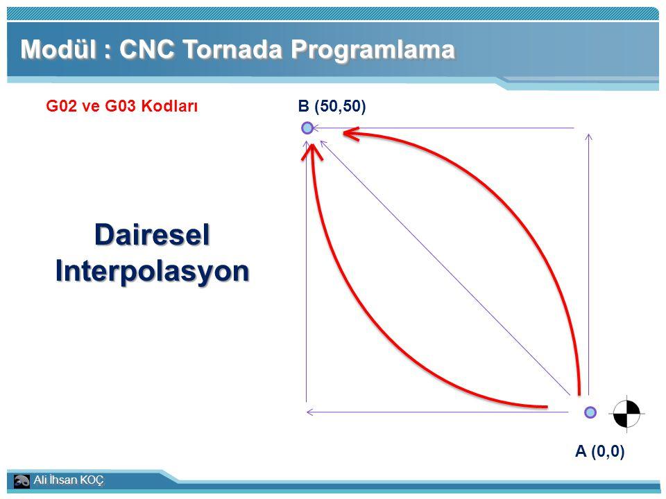 Dairesel Interpolasyon