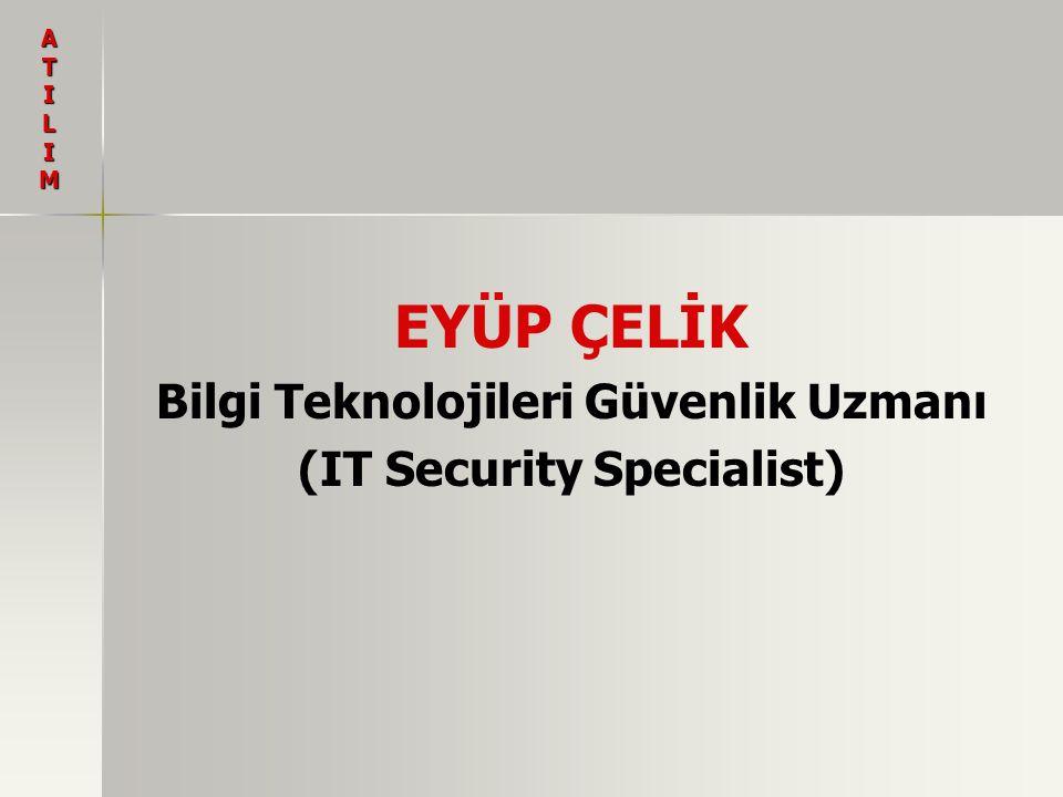 Bilgi Teknolojileri Güvenlik Uzmanı (IT Security Specialist)