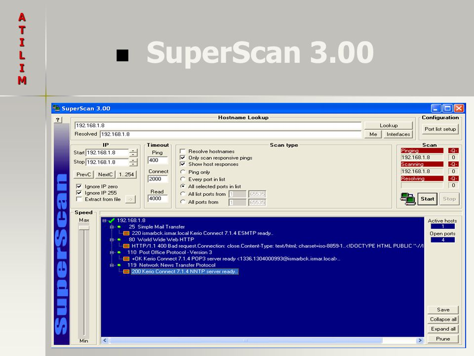A T I L M SuperScan 3.00