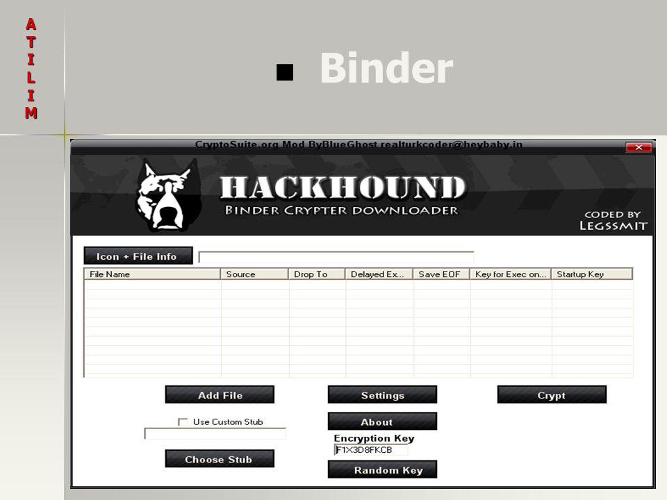 A T I L M Binder