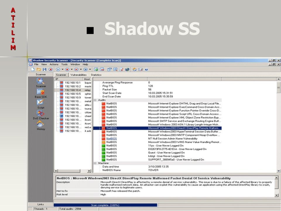 A T I L M Shadow SS