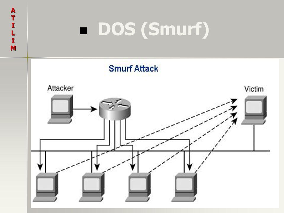 A T I L M DOS (Smurf)