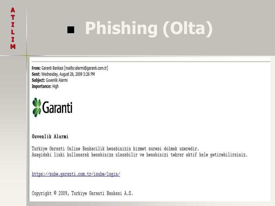 A T I L M Phishing (Olta)