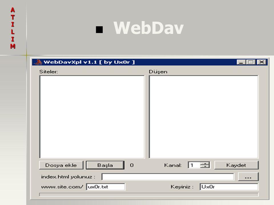 A T I L M WebDav