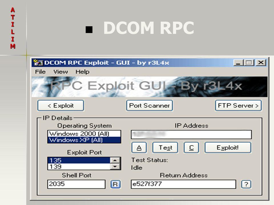 A T I L M DCOM RPC