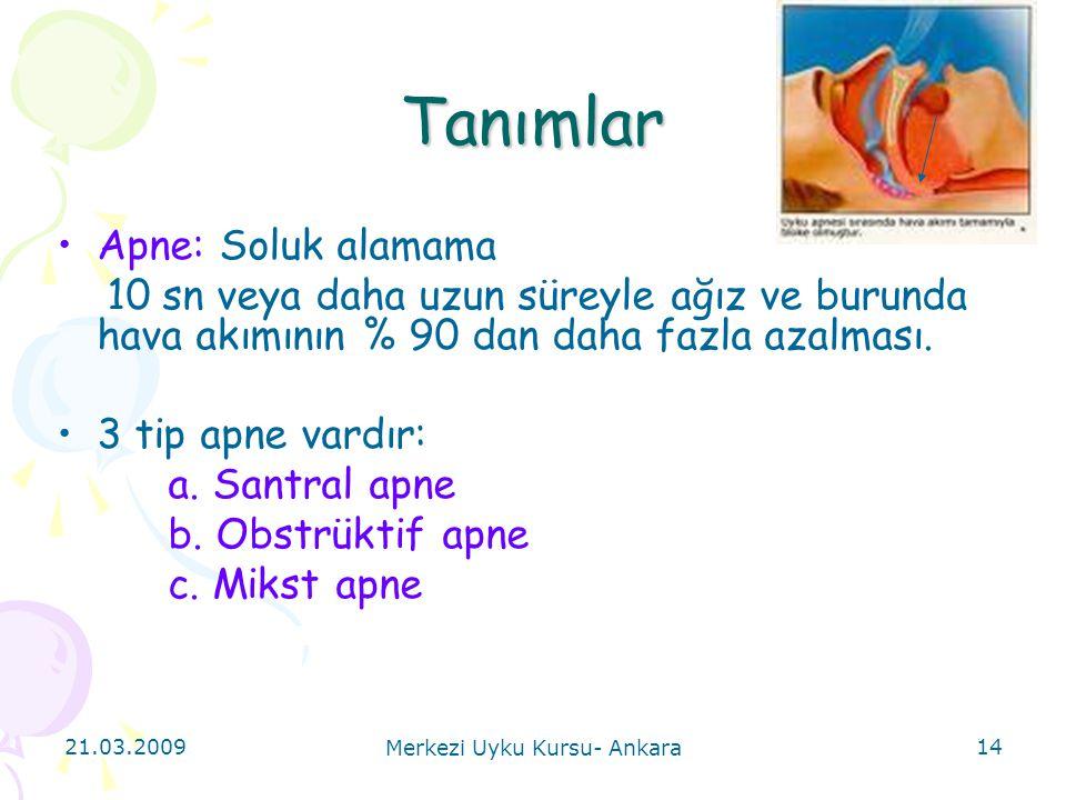 Merkezi Uyku Kursu- Ankara