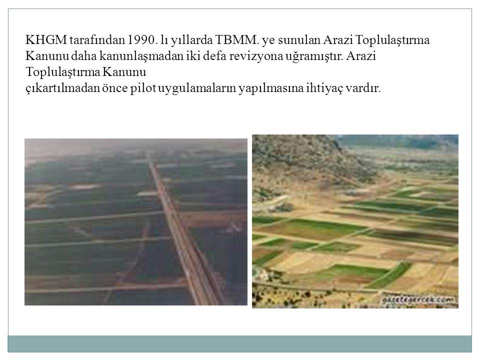 KHGM tarafından 1990. lı yıllarda TBMM