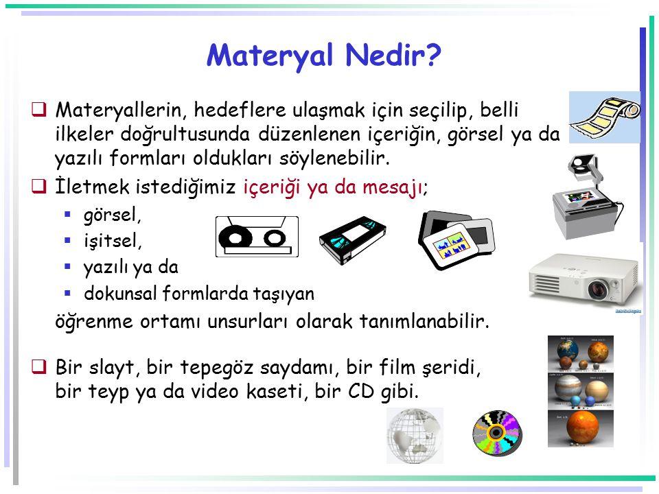 Materyal Nedir