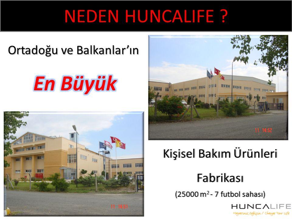 NEDEN HUNCALIFE Ortadoğu ve Balkanlar'ın En Büyük