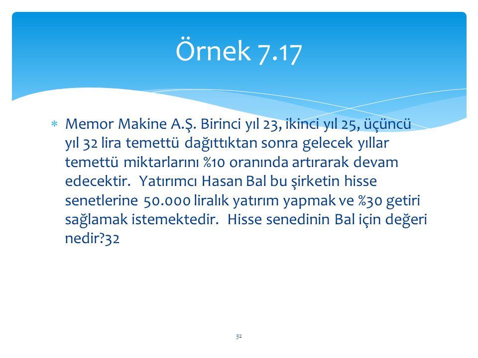 Örnek 7.17