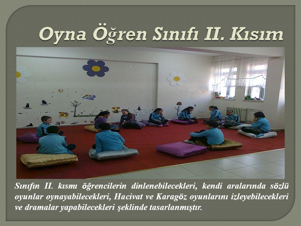 Oyna Öğren Sınıfı II. Kısım
