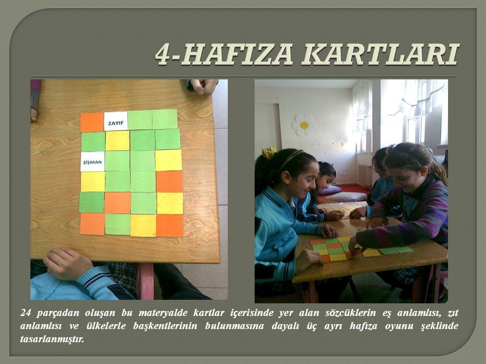 4-HAFIZA KARTLARI