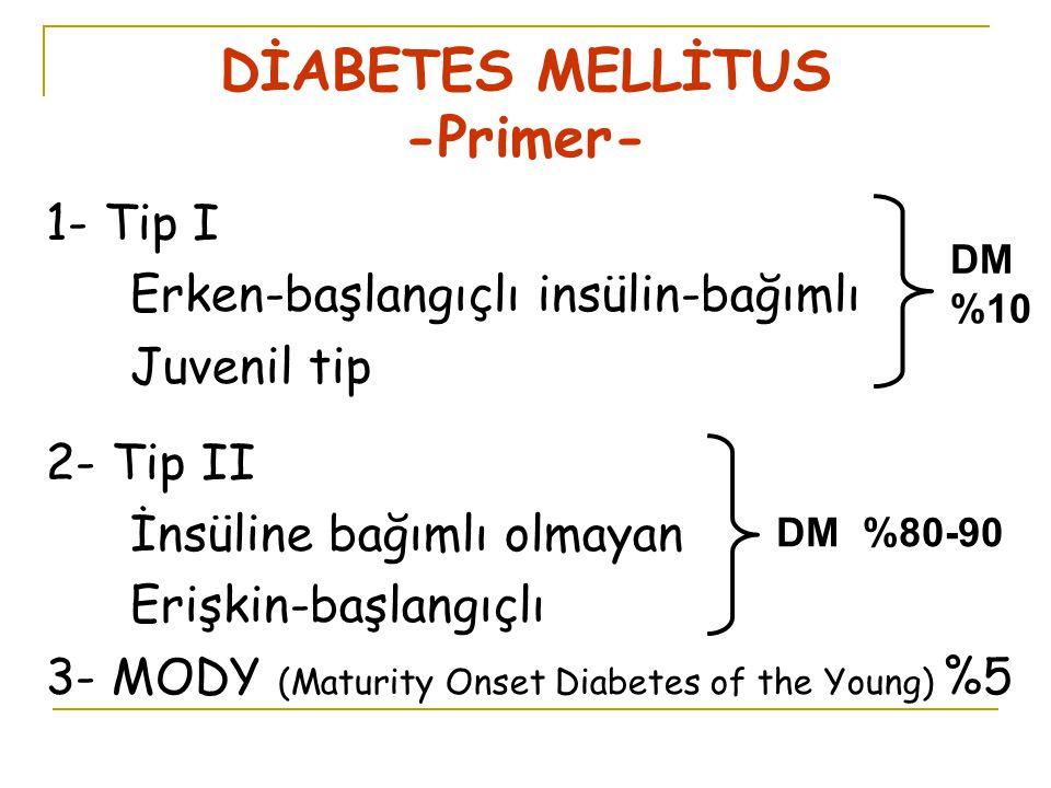 DİABETES MELLİTUS -Primer-