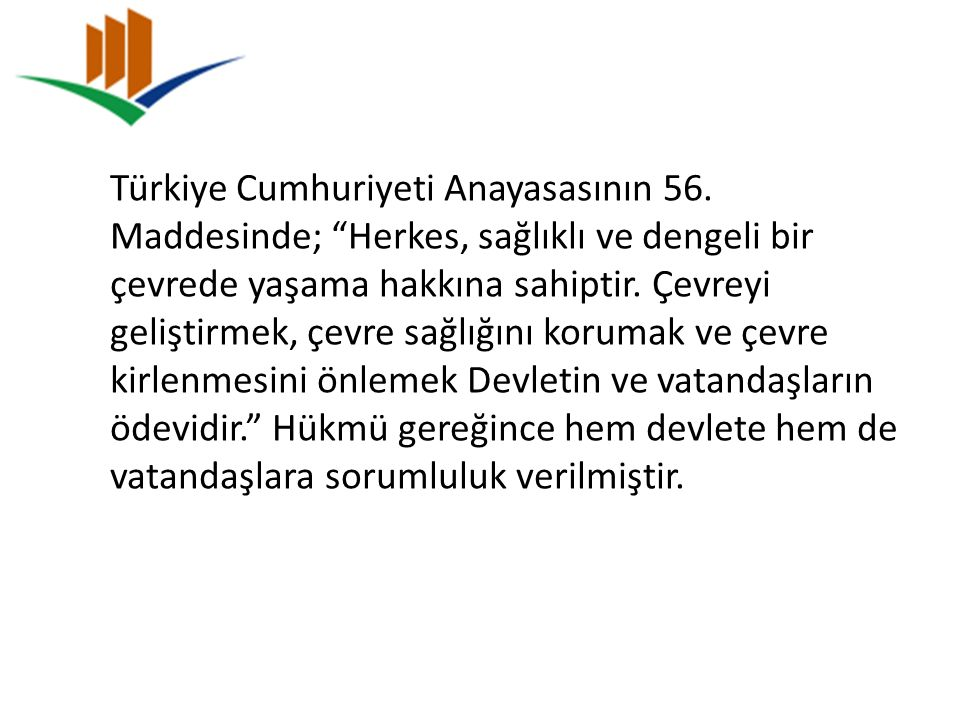 Türkiye Cumhuriyeti Anayasasının 56