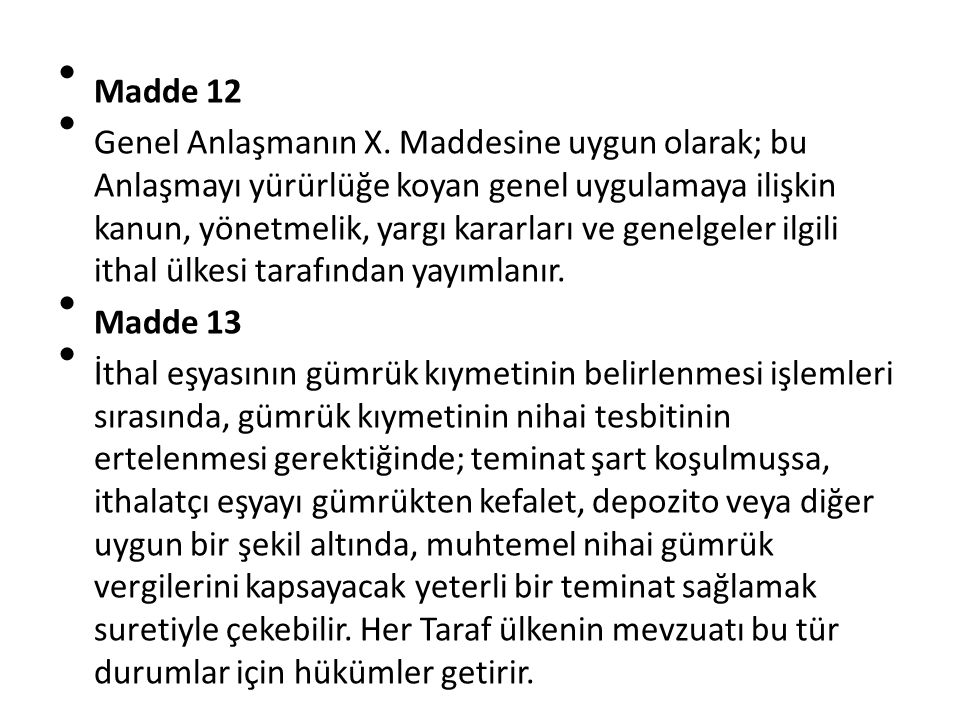 Madde 12