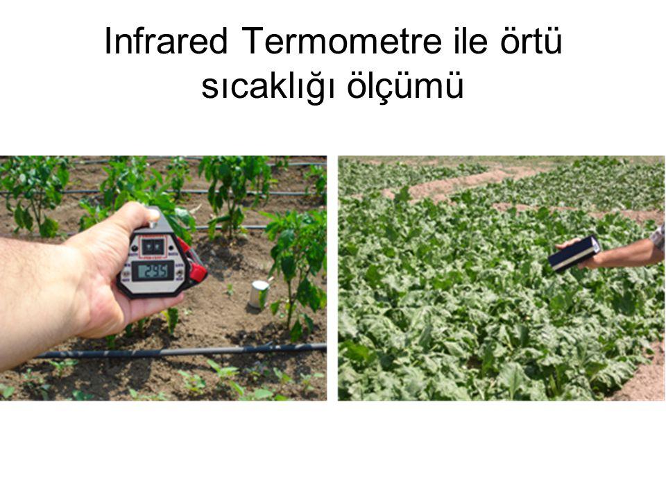 Infrared Termometre ile örtü sıcaklığı ölçümü