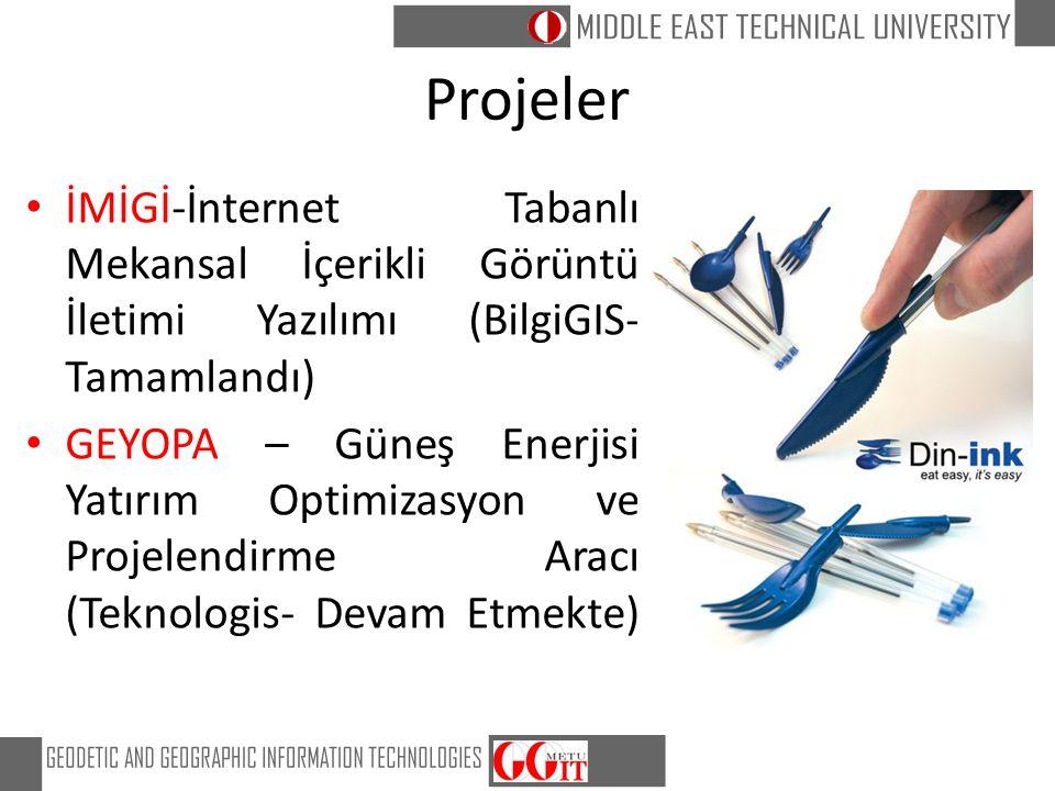 Projeler İMİGİ-İnternet Tabanlı Mekansal İçerikli Görüntü İletimi Yazılımı (BilgiGIS-Tamamlandı)