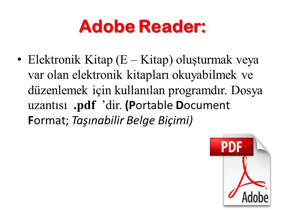 Adobe Reader: