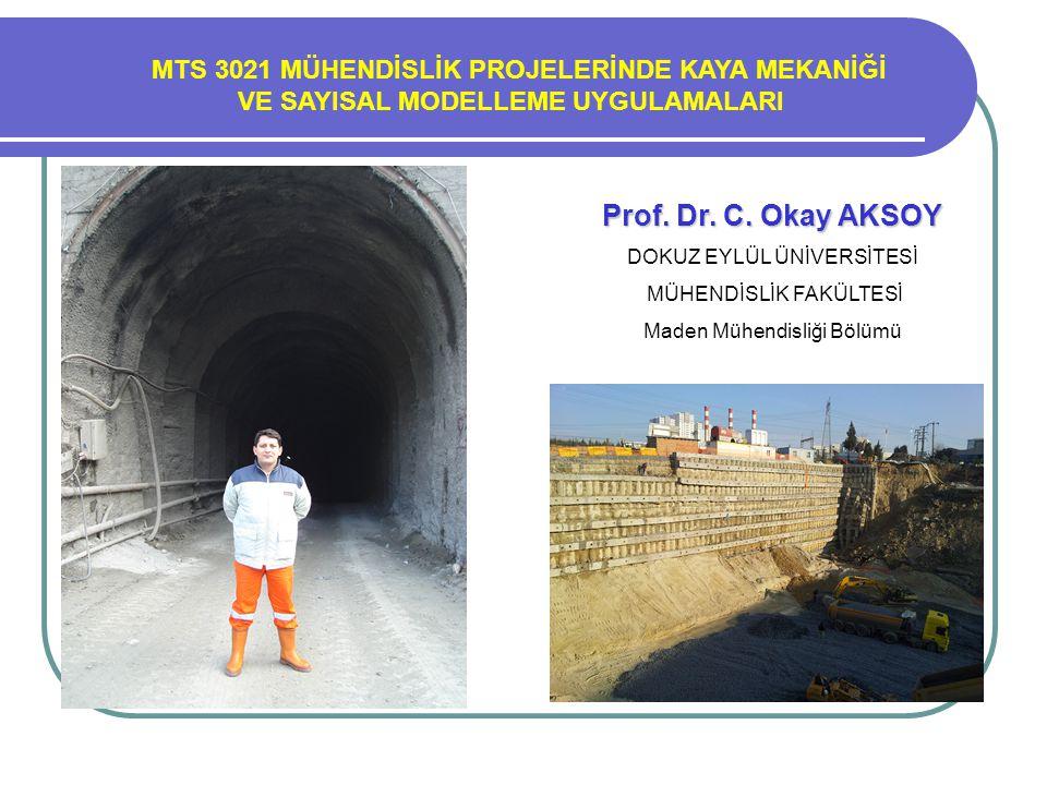 Prof. Dr. Turgay ONARGAN Prof. Dr. C. Okay AKSOY