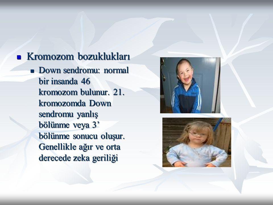 Kromozom bozuklukları