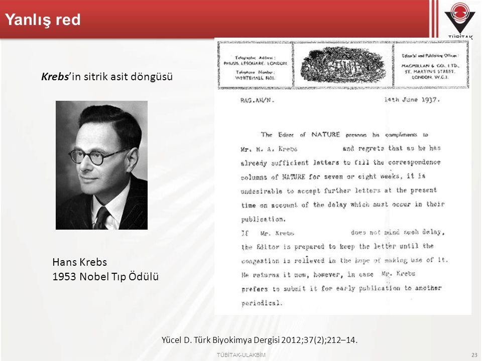 Yücel D. Türk Biyokimya Dergisi 2012;37(2);212–14.