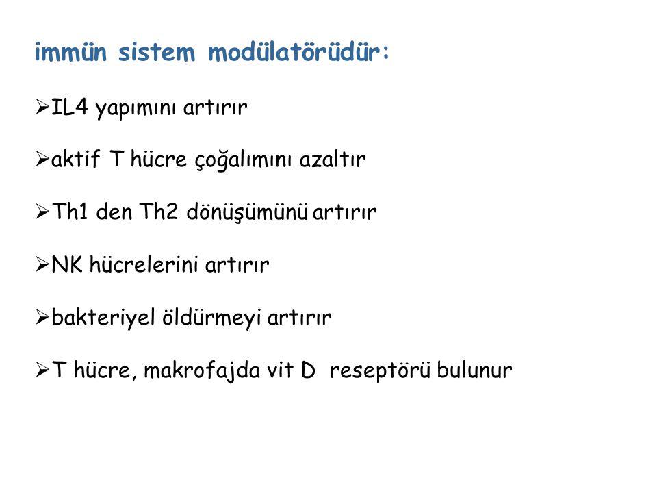 immün sistem modülatörüdür: