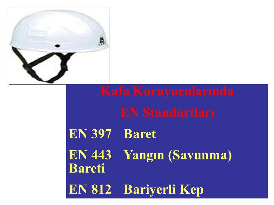 Kafa Koruyucularında EN Standartları. EN 397 Baret.