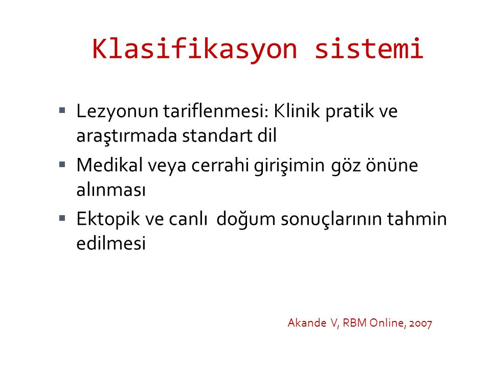 Klasifikasyon sistemi