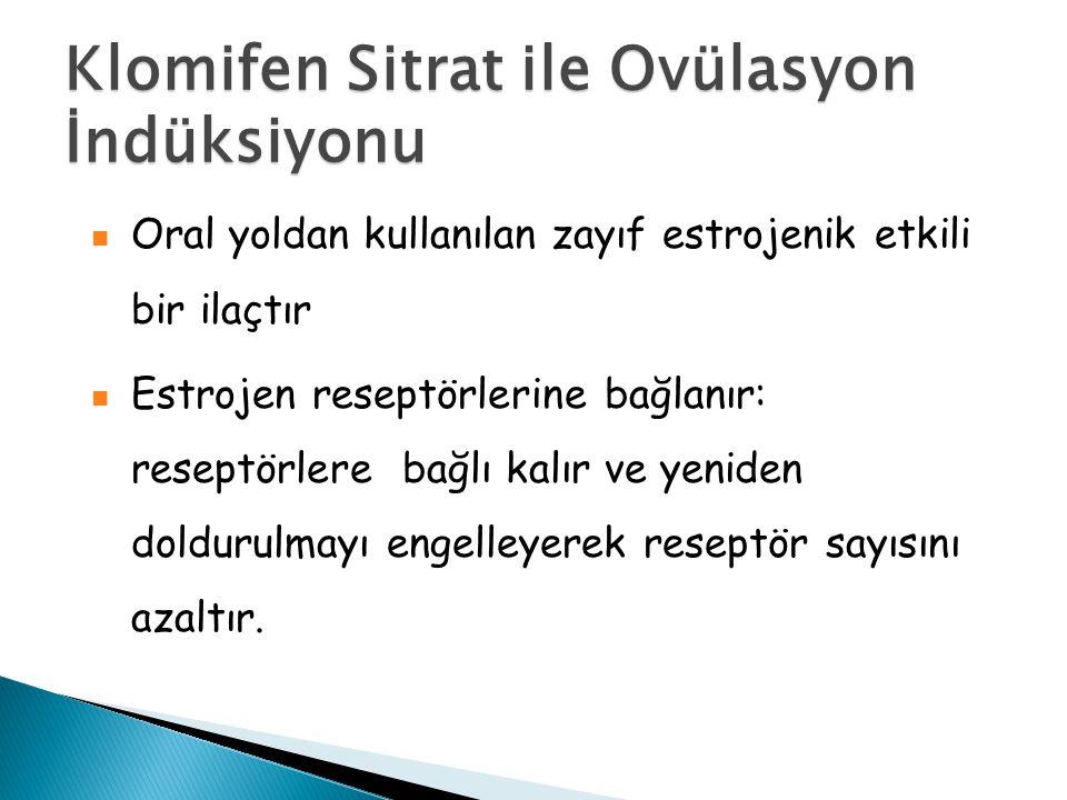 Klomifen Sitrat ile Ovülasyon İndüksiyonu
