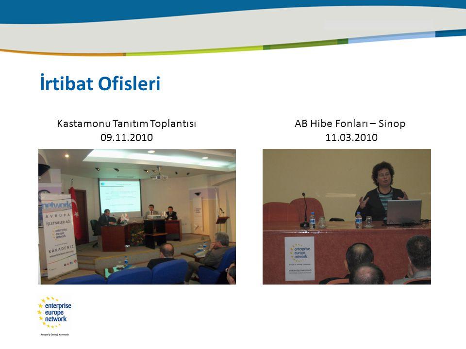 Kastamonu Tanıtım Toplantısı 09.11.2010