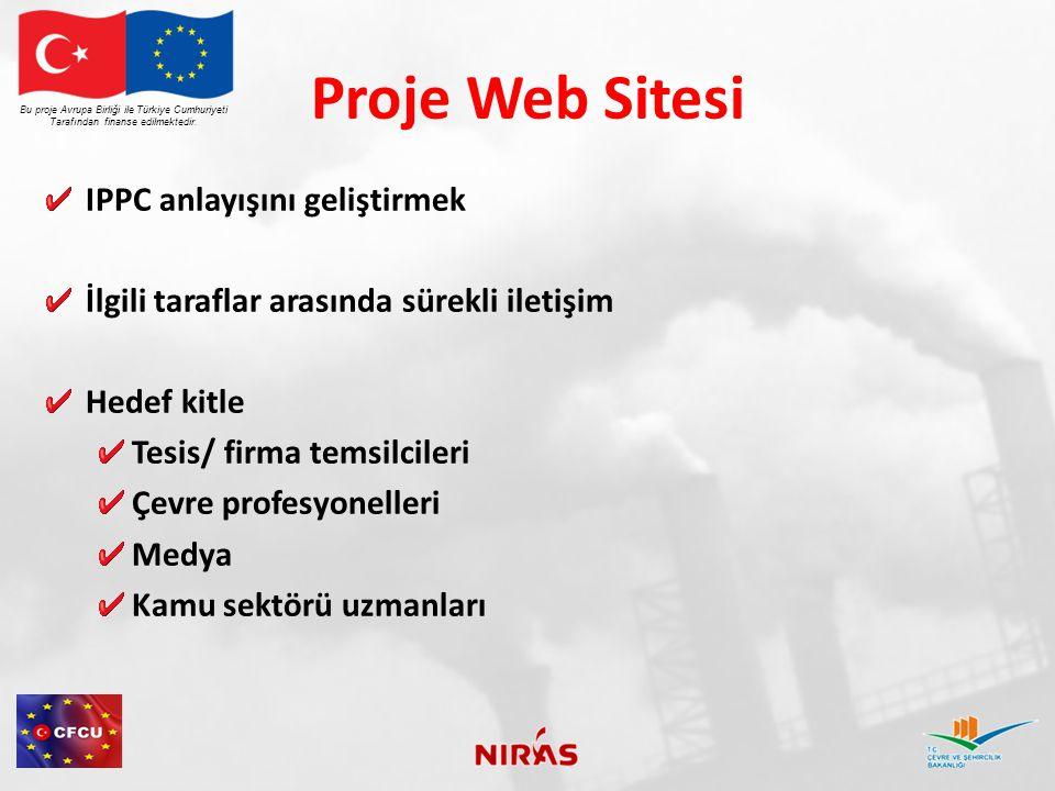 Proje Web Sitesi IPPC anlayışını geliştirmek