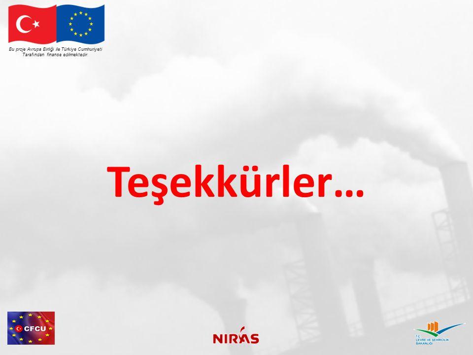 Teşekkürler… Bu proje Avrupa Birliği ile Türkiye Cumhuriyeti