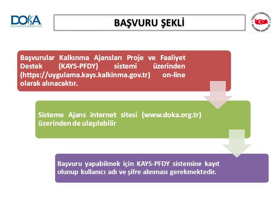 BAŞVURU ŞEKLİ