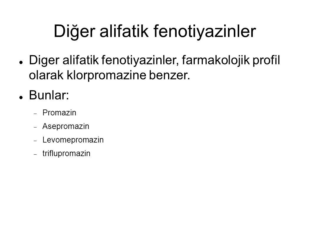 Diğer alifatik fenotiyazinler