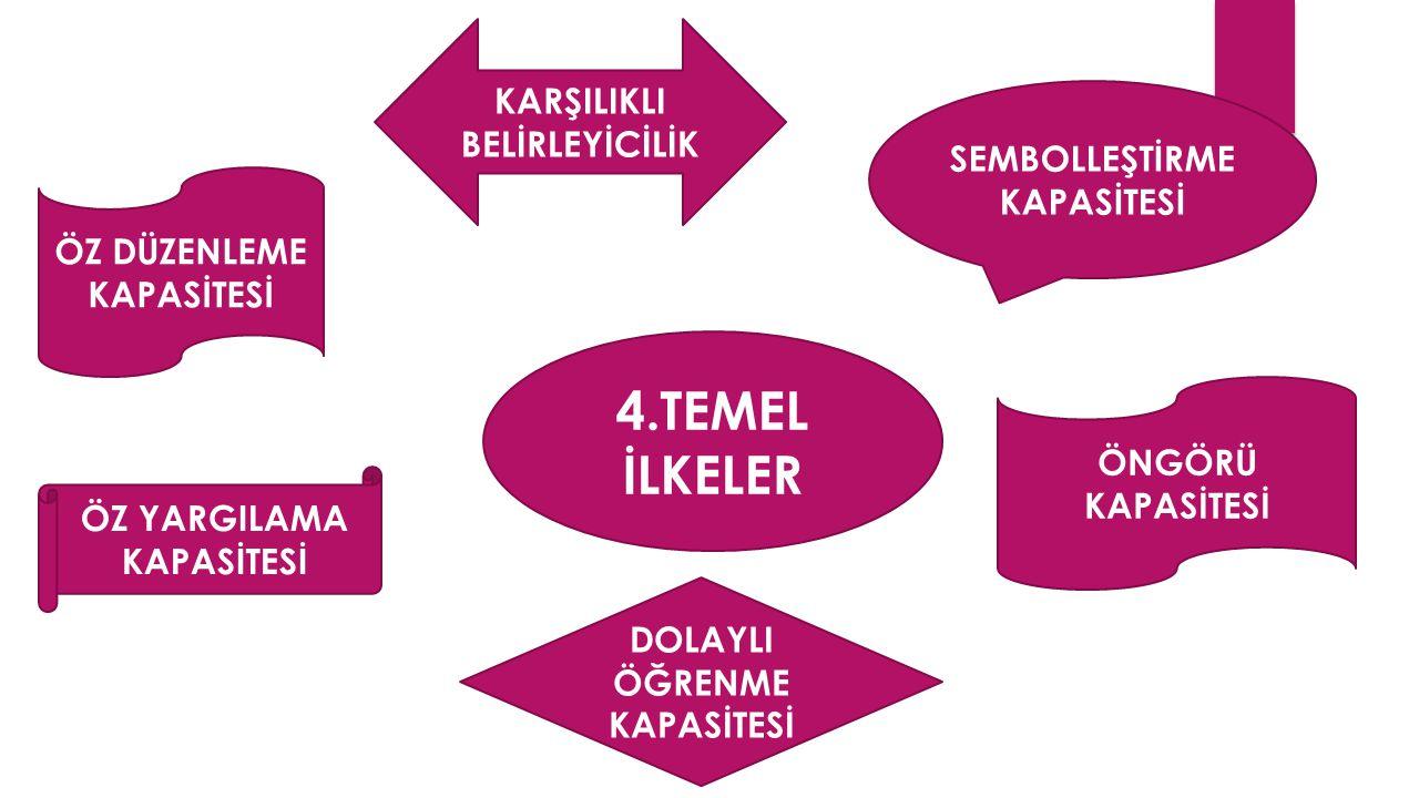 4.TEMEL İLKELER KARŞILIKLI BELİRLEYİCİLİK SEMBOLLEŞTİRME KAPASİTESİ