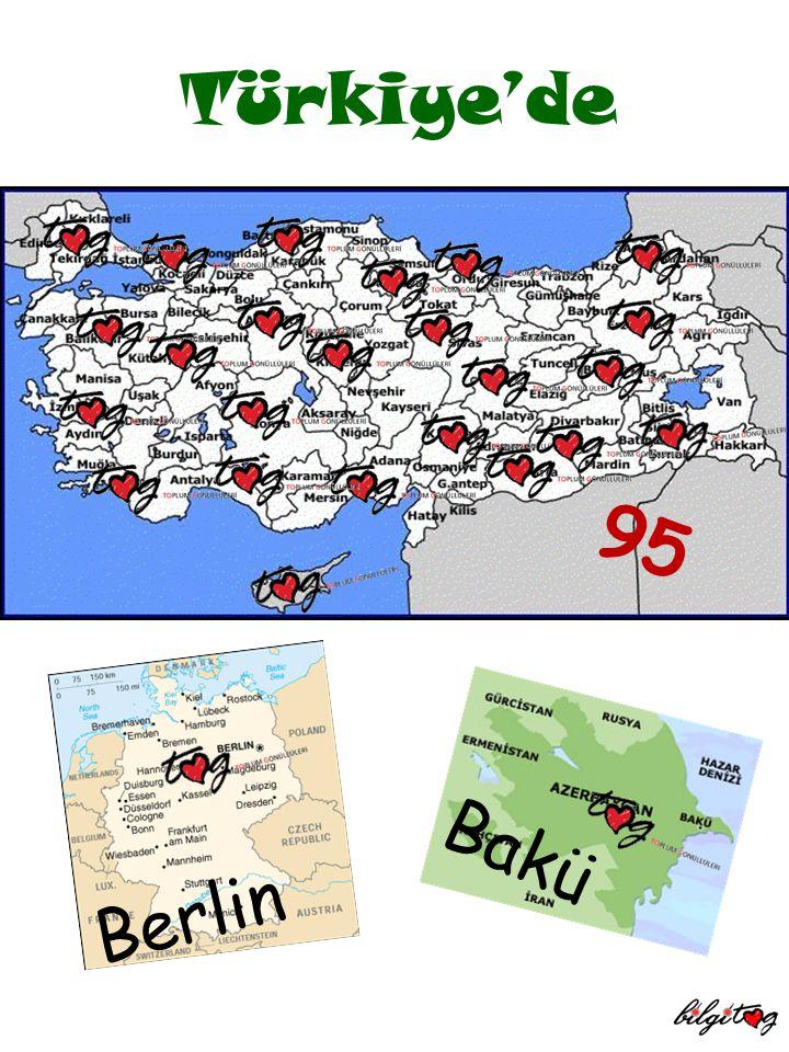 Türkiye'de 95 Bakü Berlin