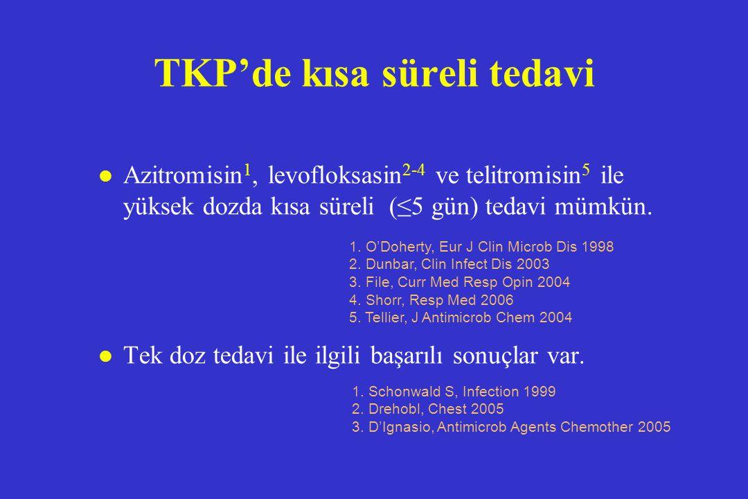 TKP'de kısa süreli tedavi
