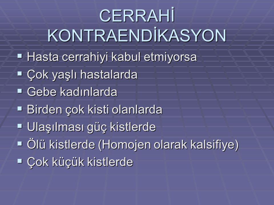 CERRAHİ KONTRAENDİKASYON