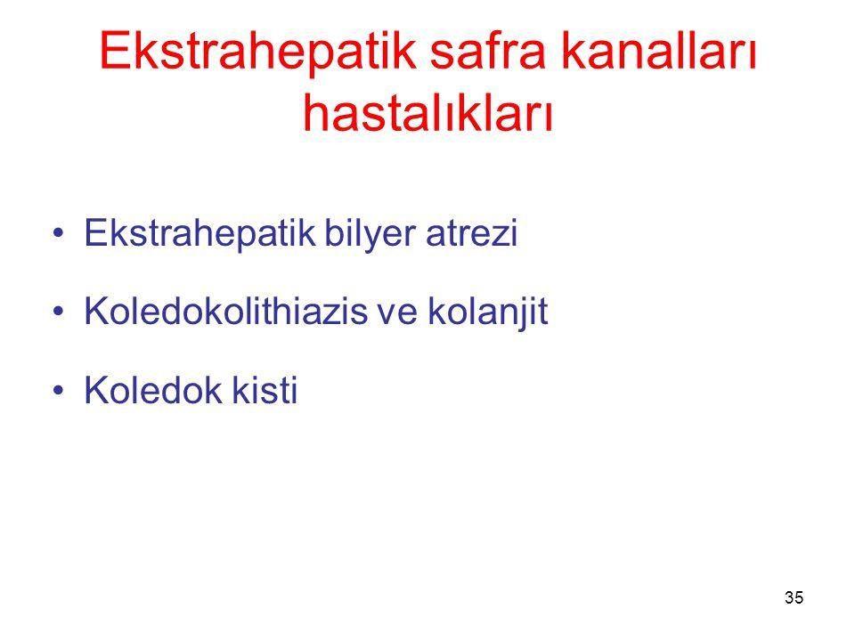 Ekstrahepatik safra kanalları hastalıkları
