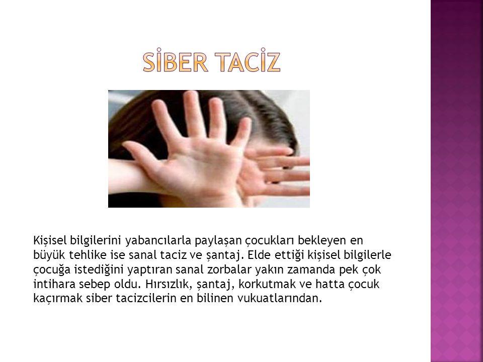 SİBER TACİZ