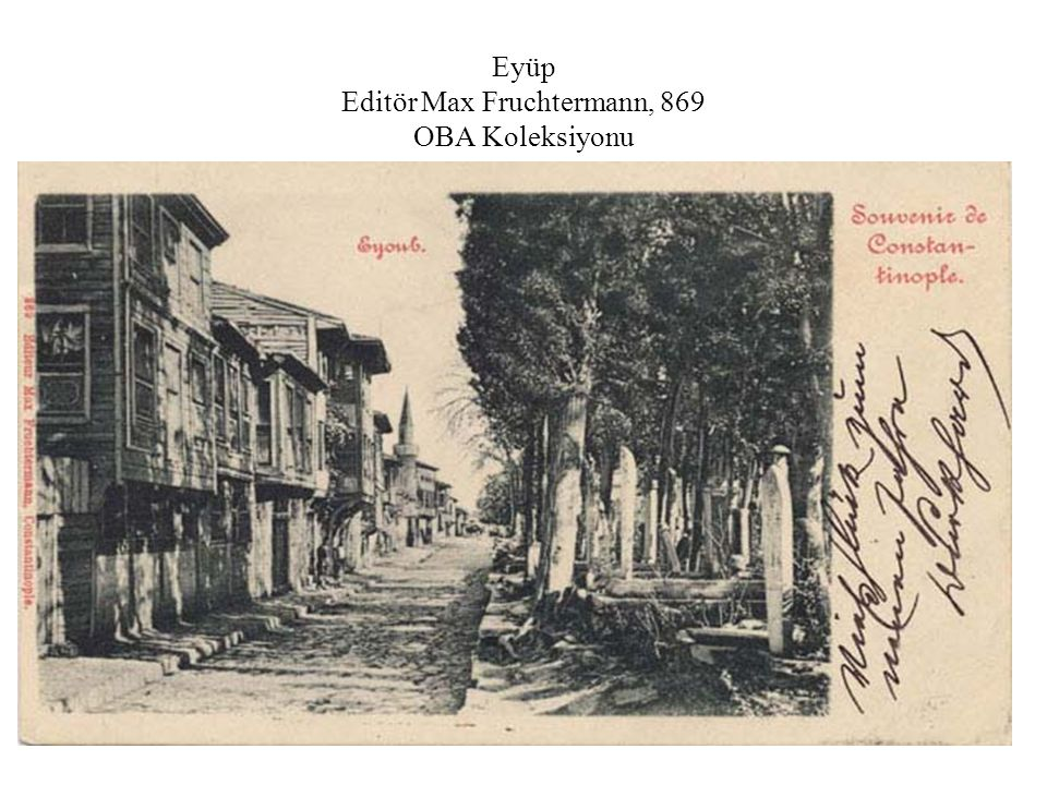 Eyüp Editör Max Fruchtermann, 869 OBA Koleksiyonu