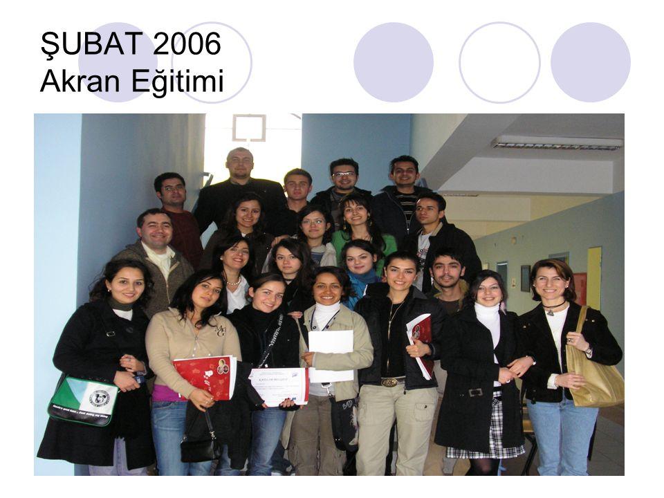 ŞUBAT 2006 Akran Eğitimi