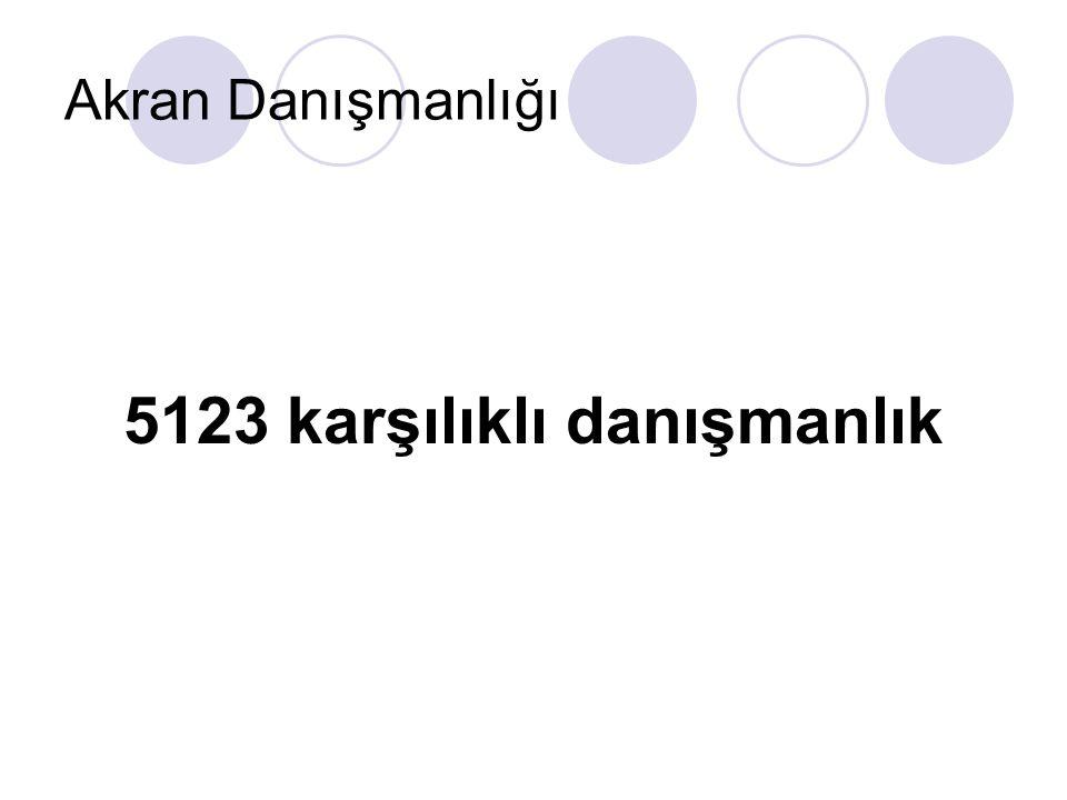 5123 karşılıklı danışmanlık