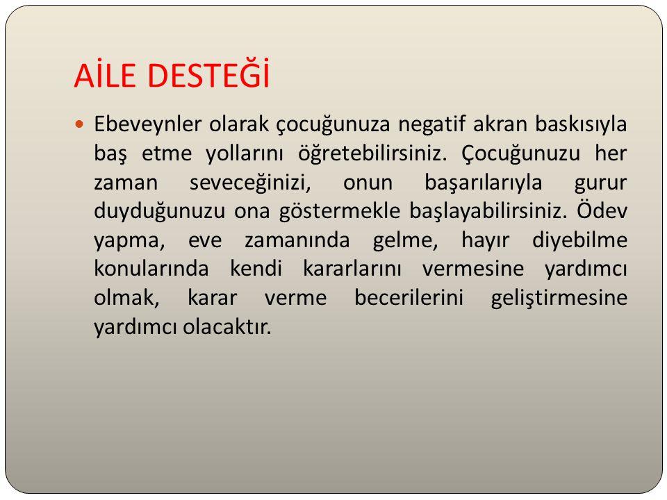 AİLE DESTEĞİ