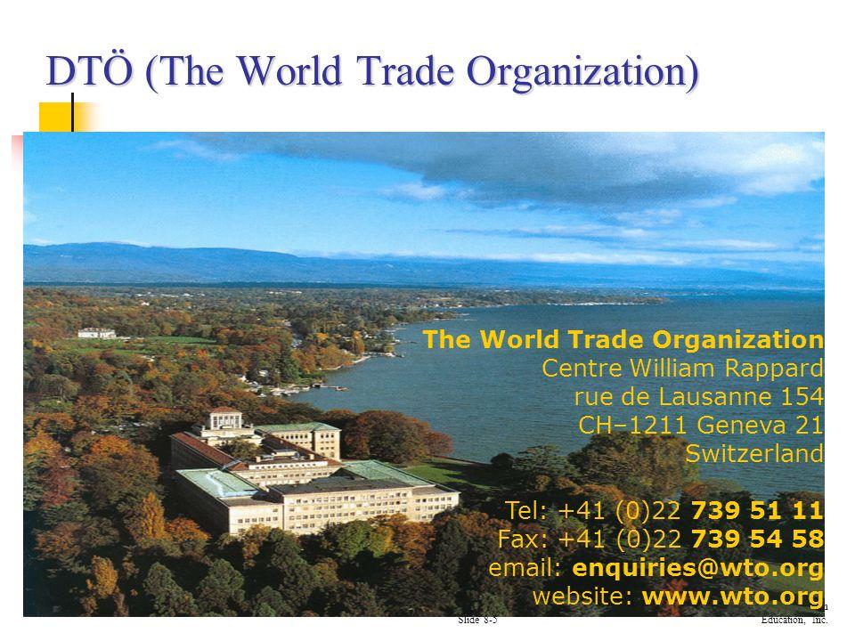 DTÖ (The World Trade Organization)
